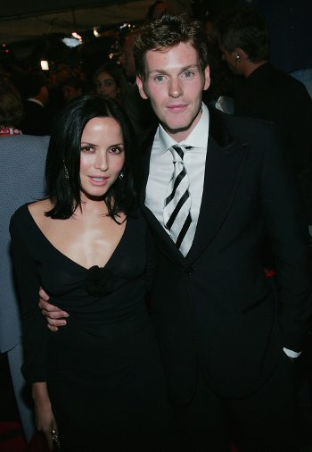 Shaun Evans and Andrea Corr
