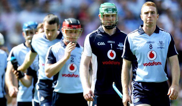 Dublin captain Johnny McCaffrey (right) is back playing in midfield.