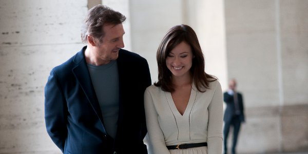 Liam Neeson and Olivia Wilde in 'Third Person'.