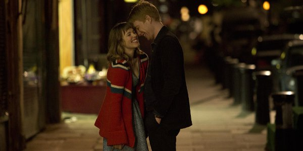Rachel McAdams and Domhnall Gleeson in 'About Time'.