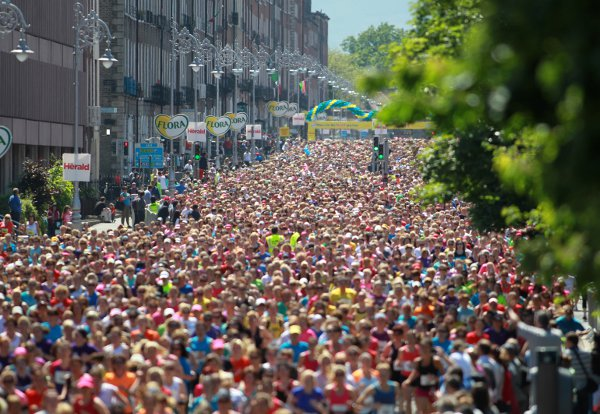 Reckon you could win more than three Dublin Marathons?