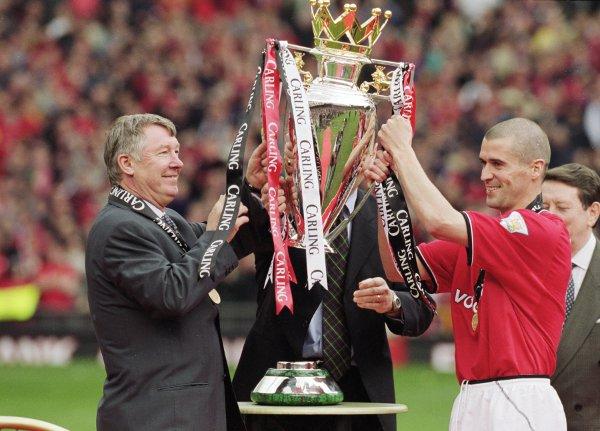 Keane and Ferguson on happier day
