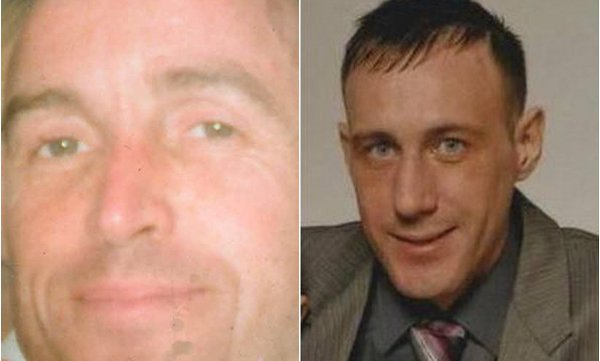 Kevin Kearney, left, and Barry McCory were murdered in the North last month