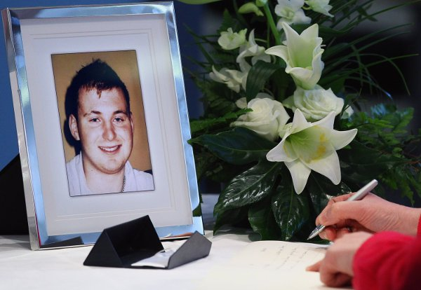 PSNI officer Ronan Kerr was murdered by dissidents in 2011