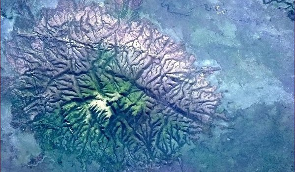 An unusual outcrop of Brazil (April 11, 2013)
