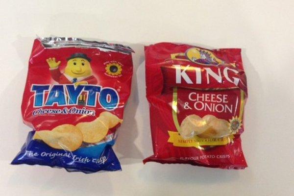 The eternal question - Tayto versus King?