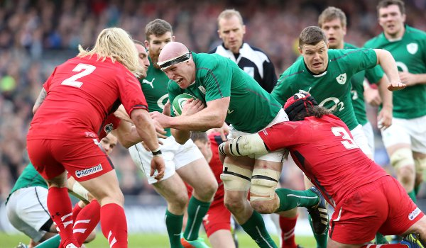 Ireland 26 - Wales 3