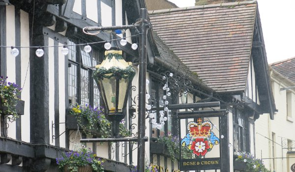 A pub in Stratford-on-Avon