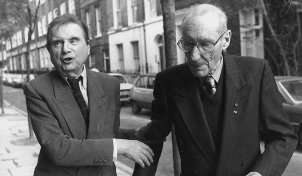 Francis Bacon and William Burroughs in London in 1989