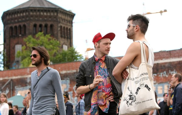 Wait, is that a new trend... The Irish hipsters head east, as far away from Ireland as they can