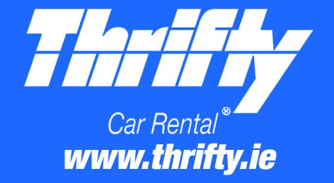 40x22mm Thrifty Logo web Blue BG