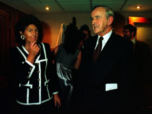 Albert Reynolds with his wife Kathleen (Photocall Ireland)