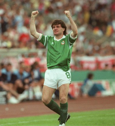 Ray Houghton scores again for Ireland