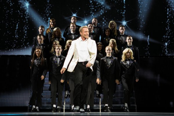 Michael Flatley and company in Lord Of The Dance: Dangerous Games (Lord of the Dance/ Brian Doherty)