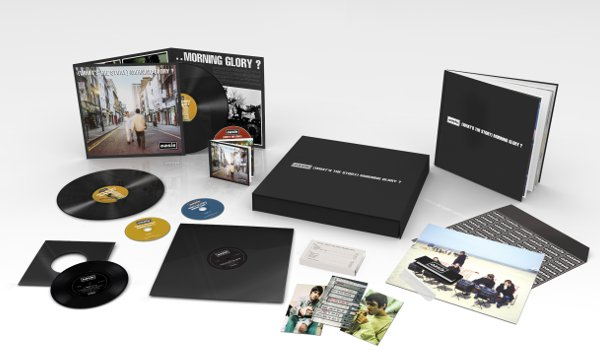 (What's The Story ) Morning Glory Super Deluxe Box Set contents (Photo: Big Brother Recordings 2014)