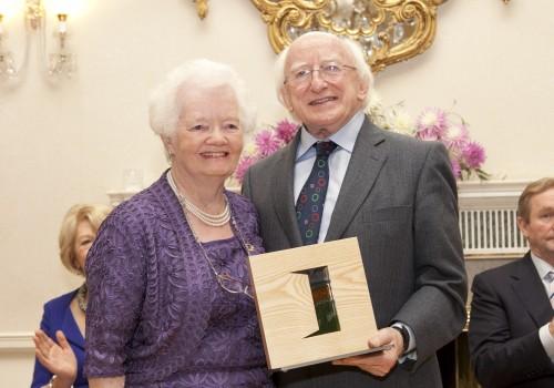Award recipient Mary Allen 2014