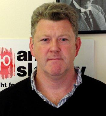 Anti-Slavery International Director Dr Aidan McQuade