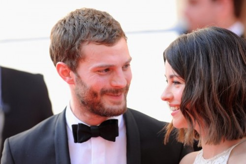 Dornan with wife Amelia Warner at the Arqiva British Academy Television Awards at Theatre Royal in London