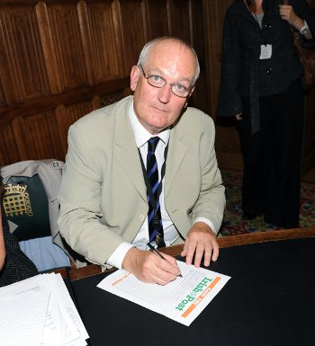 Long-term MP Chris Ruane lost his Vale of Clwyd seat in Thursday's election (Photo Mal McNally)