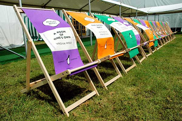 Hay Festival brings a top literary line-up to Wales (Picture: Finn Beales)