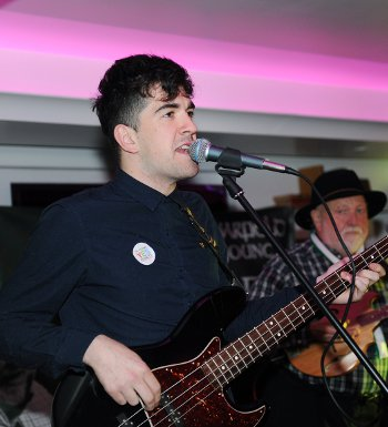 Band member Fintan Warfield is also the Mayor of South Dublin County Council (Photo Mal McNally)