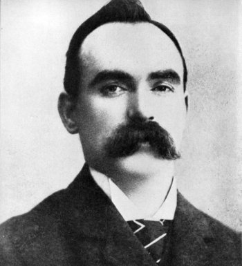 A relative of Edinburgh-born Easter Rising leader James Connolly attended the launch event