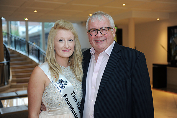 TV presenter Christopher Biggins escorted 26 year old the Rose Chloe Seymour. Chloe works as a fundraiser for the Hope Foundation charity of which Biggins is a patron.