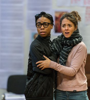 Pippa Bennett-Warner and Susannah Firelding feature alongside Beamish in The Beaux Stratagem