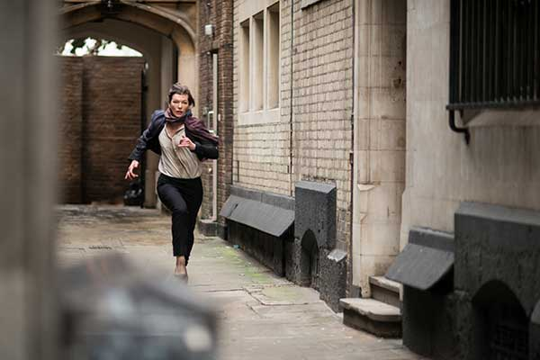Milla Jovovich plays a US secret service operative
