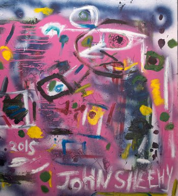 The Atom Gallery will exhibit John Sheehy's work this week