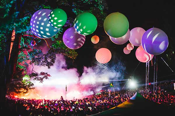 After party at Wilderness festival  in Oxfordshire