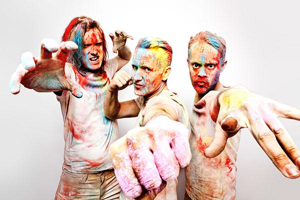 Pop punk band Ash (Photo by: Alex Lake)