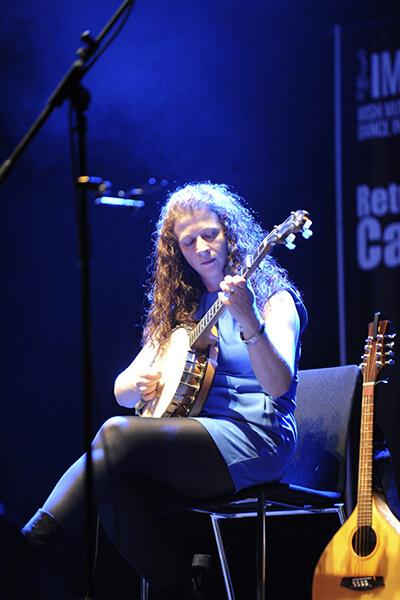 Karen Ryan, Director of the Return to Camden Town Festival. Photo - Malcolm McNally