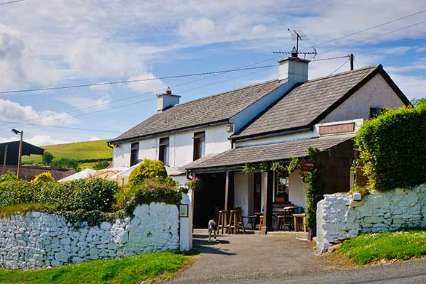 The Dying Cow Pub  in Co. Wicklow
