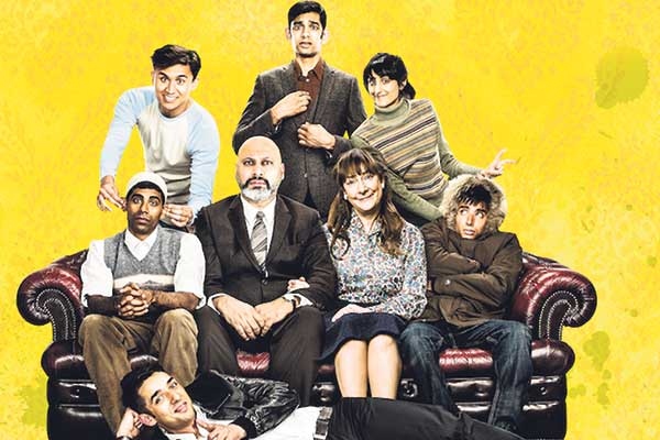 The cast of East is East, on tour until September