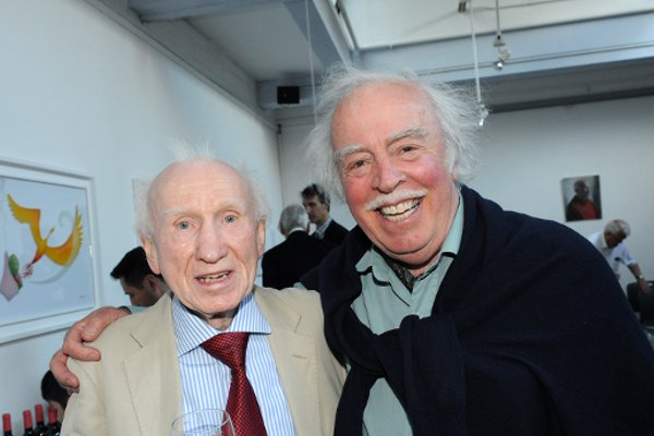 Eddie is pictured with his good friend, actor Wesley Murphy. They first met in 1960.