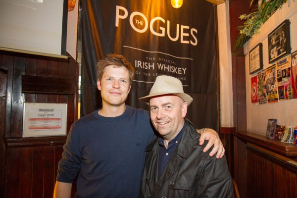Jamie Morris from Tipperary & Gerry O'Boyle owner of The Boogaloo, from Sligo