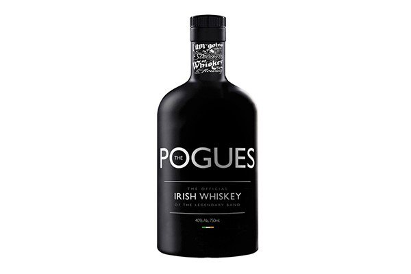 The new Pogues whiskey, which was launched in London