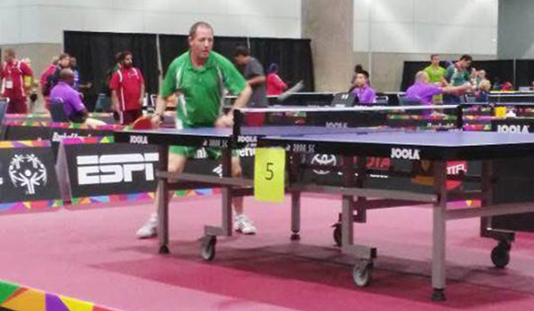 Frances Power claimed a medal in Table Tennis (Photo: Facebook)