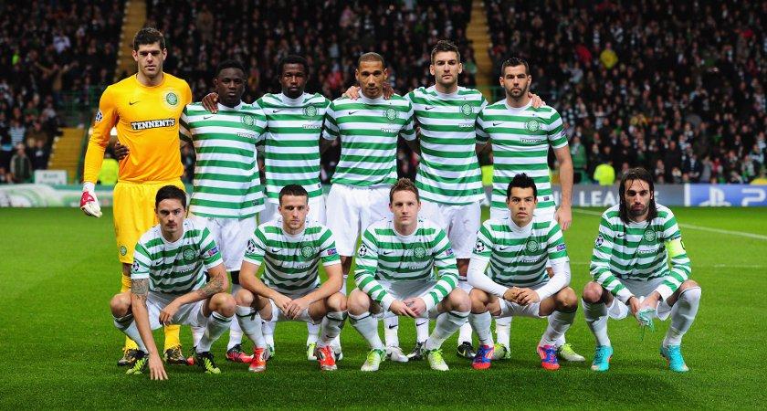 <> at Celtic Park on November 7, 2012 in Glasgow, Scotland.