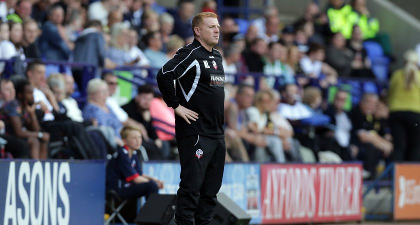 Neil Lennon is available after parting company with Bolton (Photo by Clint Hughes/Getty Images)