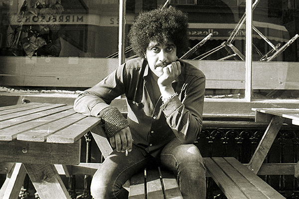 File pics Phil Lynott fixed statue unveiling today.