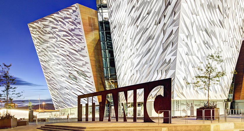 Titanic Belfast has grown to be one of the city's biggest attractions