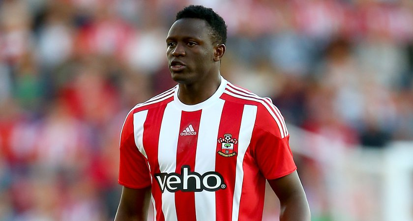 SOUTHAMPTON, ENGLAND - JULY 30:  Victor Wanyama of Southampton in action during the UEFA Europa League Third Qualifying Round 1st Leg match between Southampton and Vitesse at St Mary's Stadium on July 30, 2015 in Southampton, England.  (Photo by Jordan Mansfield/Getty Images)
