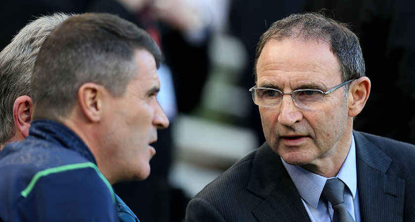 Republic of Ireland continue to slide down the rankings under Martin O'Neill and Roy Keane [Picture: Inpho]