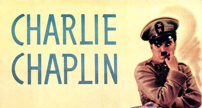 Charlie Chaplin in The Gr