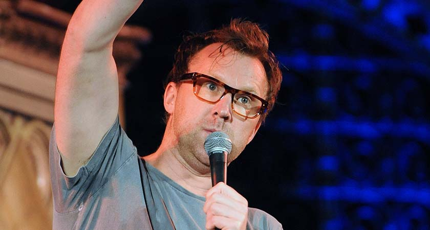 Jason Byrne rounded off the night with a great set. Photo - Malcolm McNally