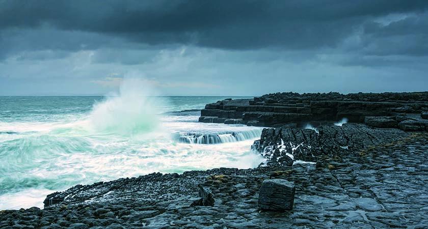 Doolin coast, the Burren, County Clare. (Photo: Carsten Krieger)