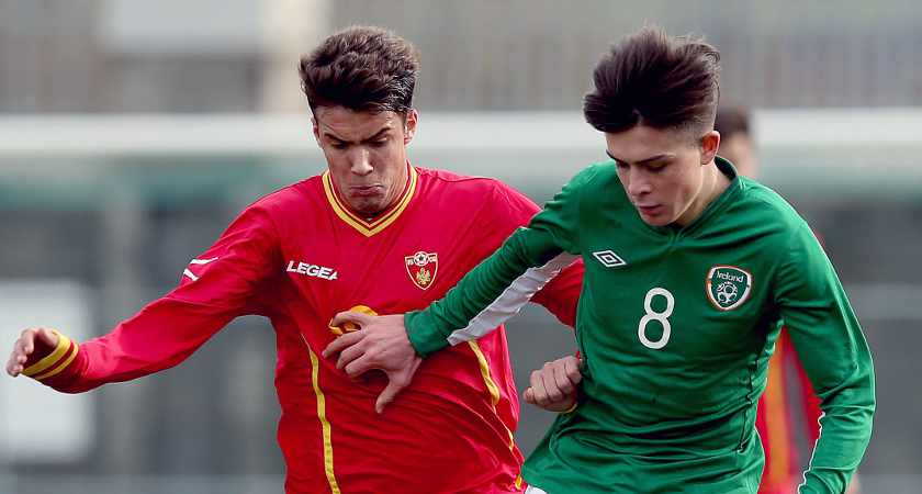 Grealish in action for Ireland's Under 21s [Picture: Inpho]