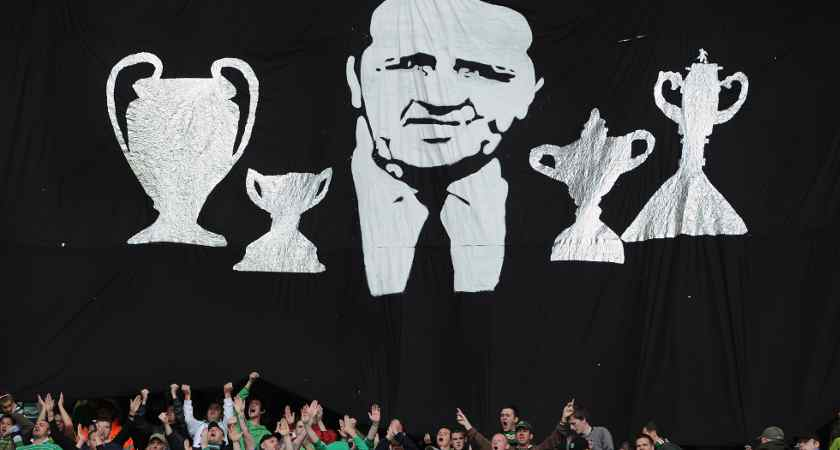 Celtic supporters reiterate their admiration for Stein [Picture: Getty]